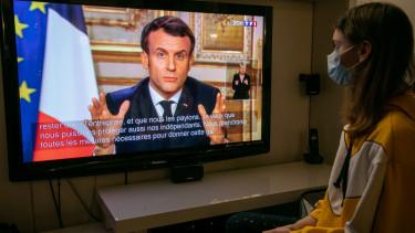 Emmanuel Macron koronvirus bejelentes iskolabezaras