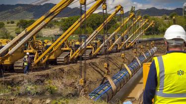Építeni kezdte Románia a Magyarországra tartó gázvezetéket