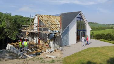 építkezés családi ház