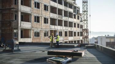 építkezés, lakóépület