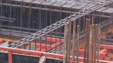építkezés vasbeton