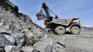 építőipar bányászat
