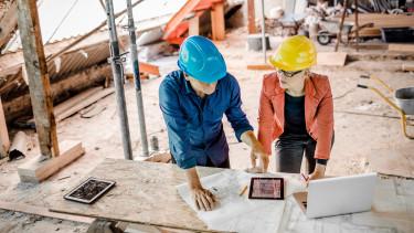 építőipar digitalizáció építkezés