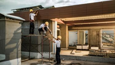 építőipar fizikai munkás dolgozó