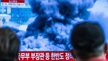 eszak-korea felrobbant kozpontot200622