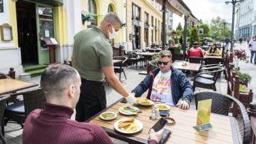 étterem terasz kijárási korlátozás vidék koronavírus