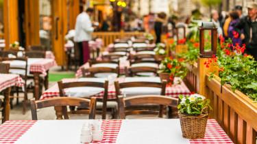 étterem vendéglátás