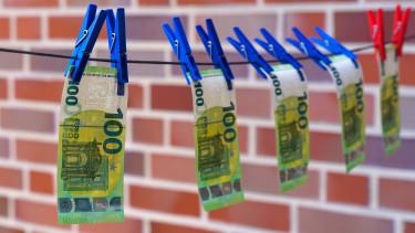 euró banjegy csipesz szárító getty stock