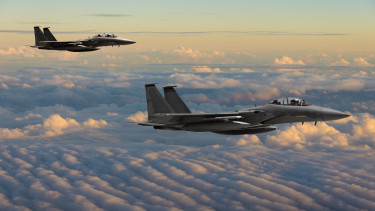f-15 vadászgépek