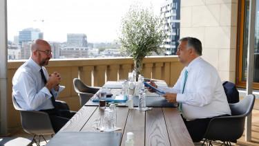 feladta lecket az Orban-kormany ultimatuma Charles Michel Orban Viktor brusszel