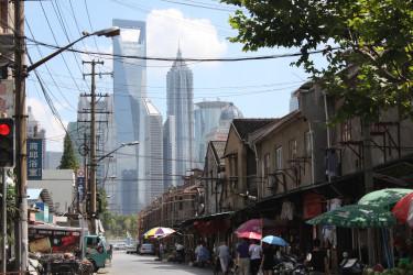 Felhőkarcoló - Sanghaj - MN