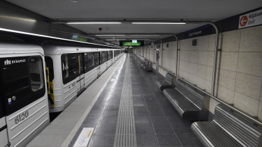 felújított 3-as metró Újpest-városkapu