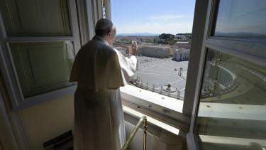 Ferenc pápa koronavírus
