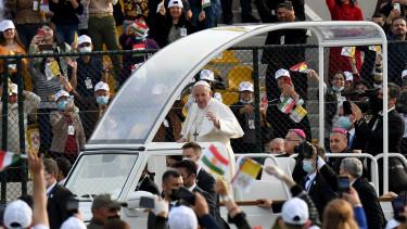 ferenc pápa látogatás