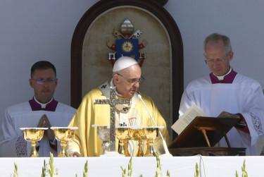 ferenc pápa látogatás budapest
