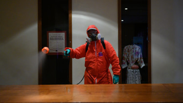 fertőtlenít járvány koronavírus