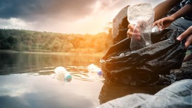 folyó műanyag szennyezés tisza környezetvédelem