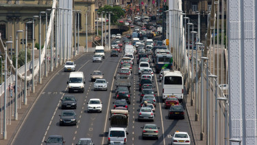 forgalom budapest közlekedés