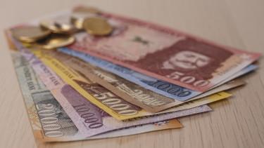 forint bankjegy getty stock