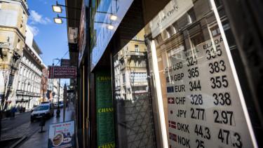 forint esik mnb jelzes arfolyam euro penzvalto