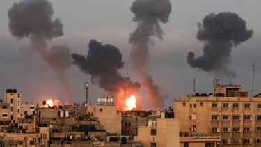 gaza robbanas