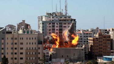 gaza robbanas torony