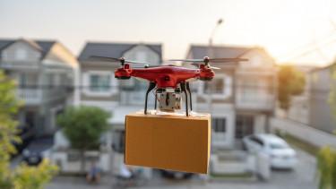 getty, drón, ekereskedelem, házhozszállítás