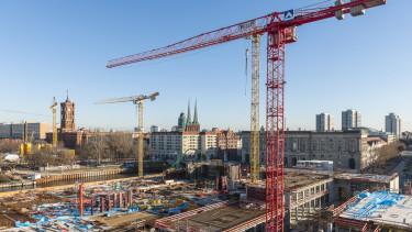 getty, építés, daru, toronydaru, ingatlanfejlesztés