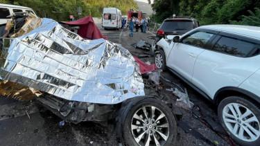 getty images baleset magyar autós út