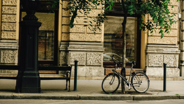 getty, kerékpár, bicikli, körút, belváros