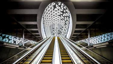 getty, metró, metróállomás, 4-es metró