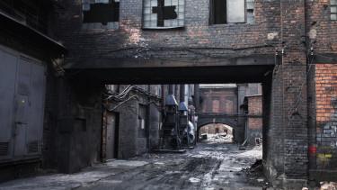 getty, rozsdaövezet, gyár, barnamező, ipar,