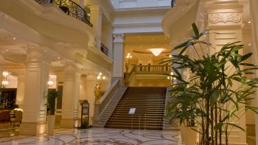 getty, szálloda, lobby, hotel