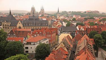 getty, türingia, erfurt, németország