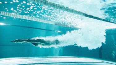 getty, uszoda, medence, úszó