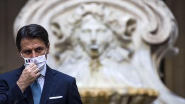 giuseppe conte olaszország koronavírus járvány