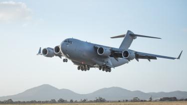 globemaster szállítógép légierő kimenekítés afganisztán kabul