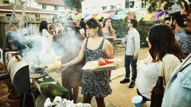 grill parti getty stock