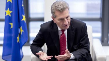 Günter Öttinger unios költségvetés