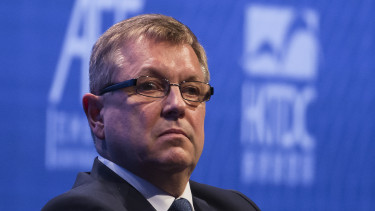 Gyorgy Matolcsy, president of the Magyar Nemzeti Bank