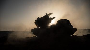háború rakétarendszer katonaság sziluett