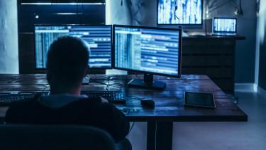hacker programozó számítógép