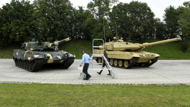 hadsereg harckocsi honvédség leopard
