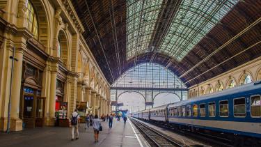 Hatalmas állomásfejlesztés a MÁV-nál, a Nyugatival és a Keletivel kezdik