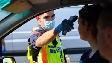 határellenőrzés hőmérséklet járvány koronavírus