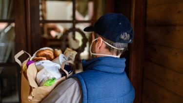 házhozszállítás étel élelmiszer futár