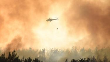 helikopter tűzvész