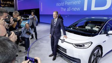 Herbert Diess, a Volkswagen AG vezérigazgatója