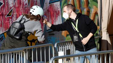 homerséklet mérés primavera fesztivál spanyolország járvány