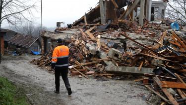 horvát földrengés mti